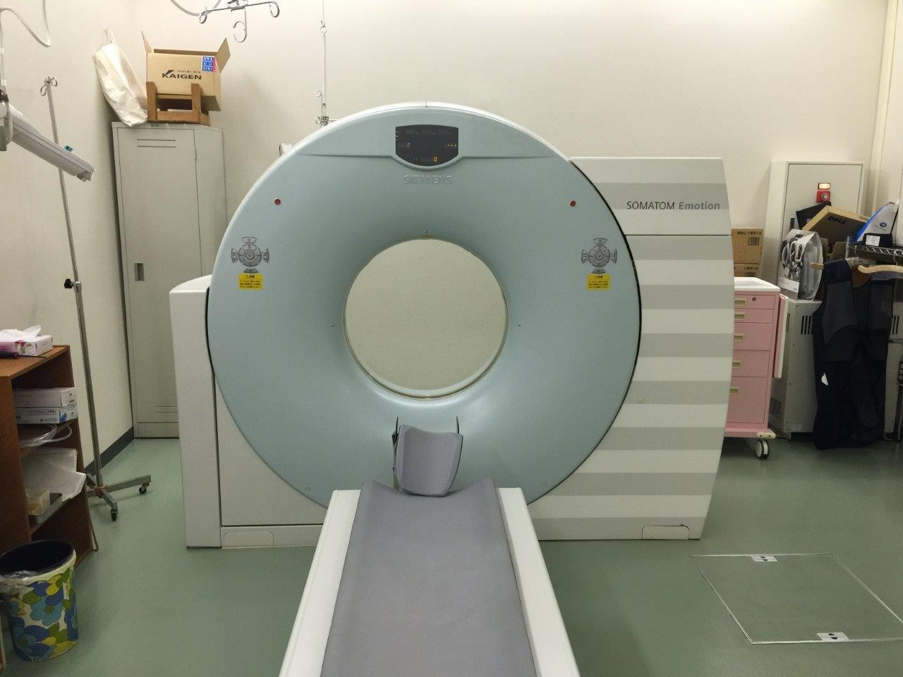 Компьютерный томограф Siemens Somatom Emotion 16